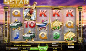 Kostenlose Spielautomat Five Star Luxury Online