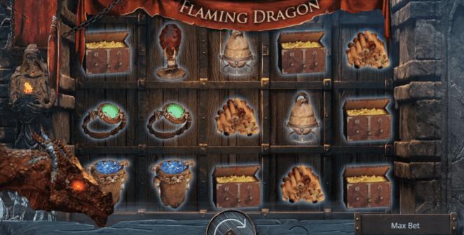 Kostenlose Spielautomat Flaming Dragon Online