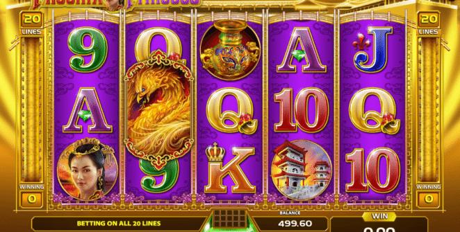 Kostenlose Spielautomat Phoenix Princess Online