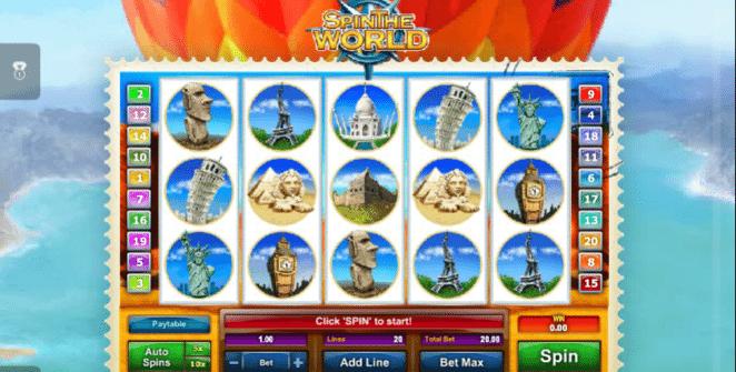 Kostenlose Spielautomat Spin the World Online