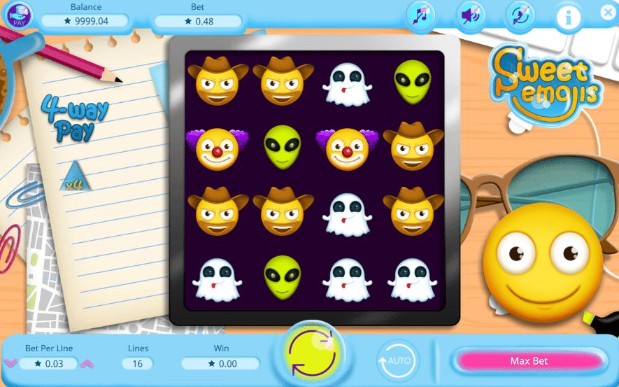 Spielautomat Sweet Emojis Online Kostenlos Spielen