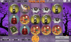 Kostenlose Spielautomat Trick or Spin Online