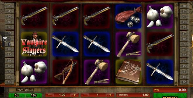 Spielautomat Vampire Slayers Online Kostenlos Spielen