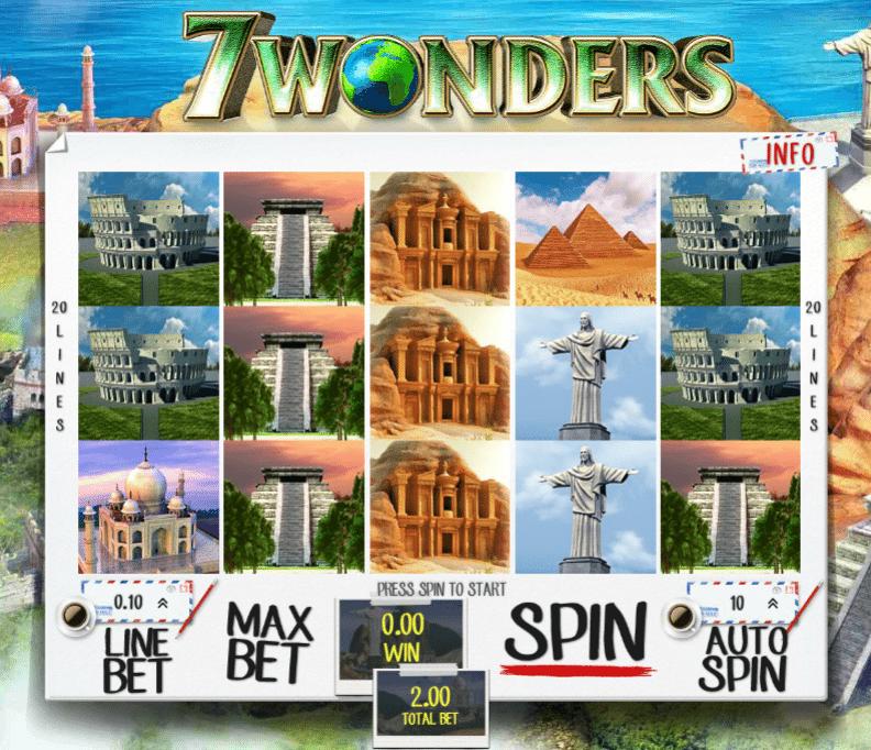 7 wonders spielautomat
