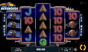 Kostenlose Spielautomat Asteroids Online