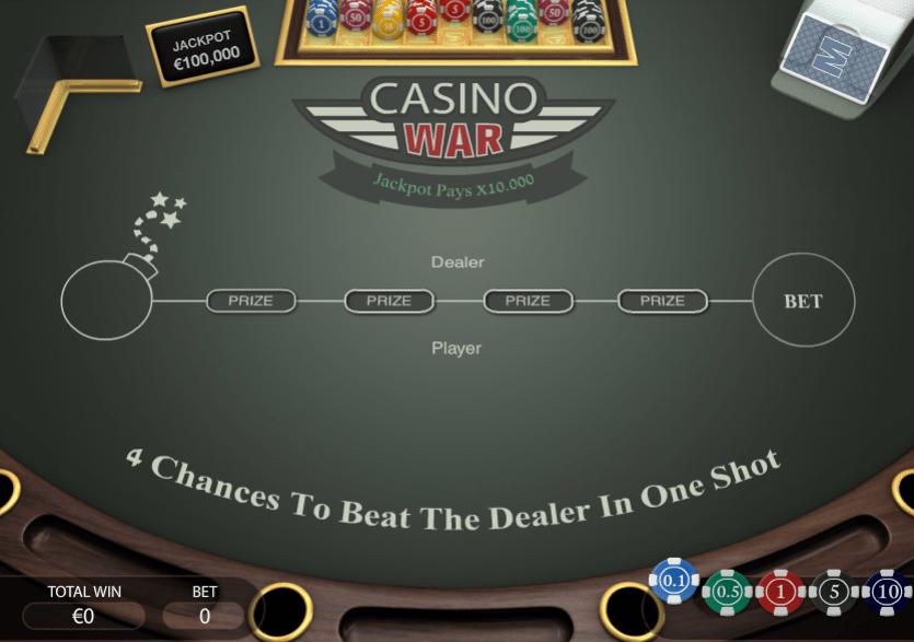 Kostenlose Spielautomat Casino War Online