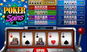 Kostenlose Spielautomat Poker Spins Online