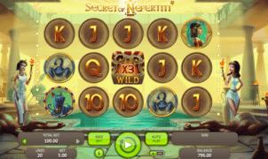 Kostenlose Spielautomat Secret of Nefertiti Online