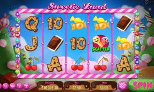 Kostenlose Spielautomat Sweetie Land Online