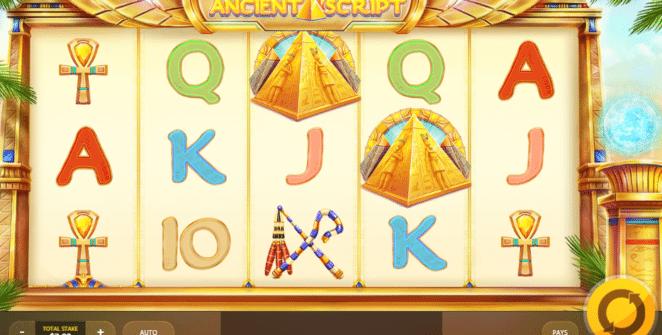 Ancient Script Spielautomat Kostenlos Spielen