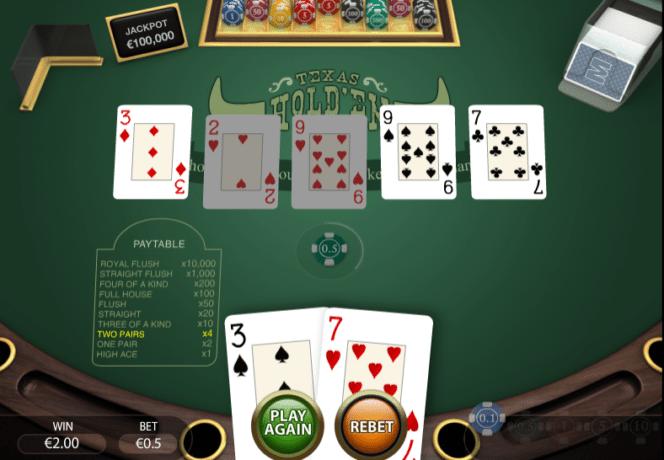 Texas Holdem Jetzt Spielen