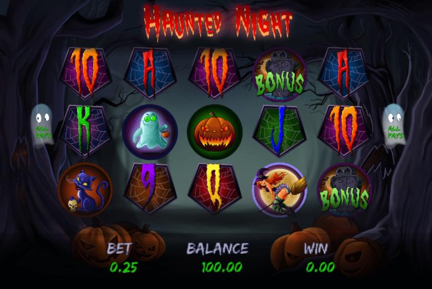 Haunted Night Spielautomat Kostenlos Spielen