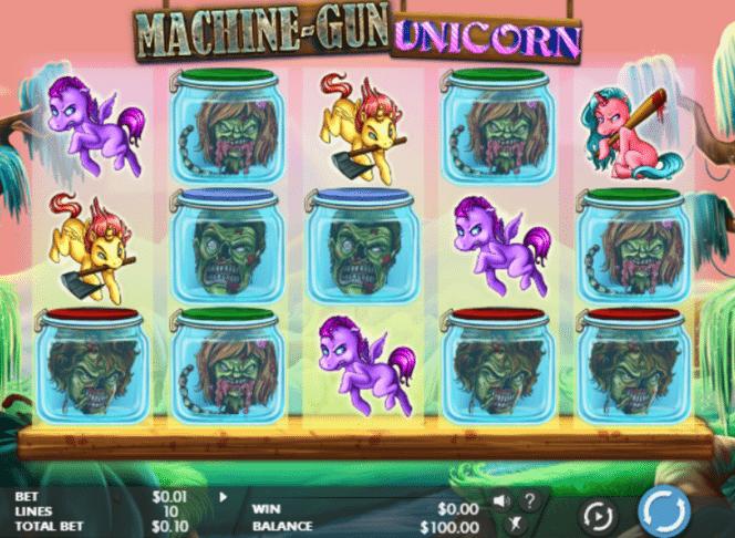 spielautomat machinegun unicorn kostenlos online  jetzt