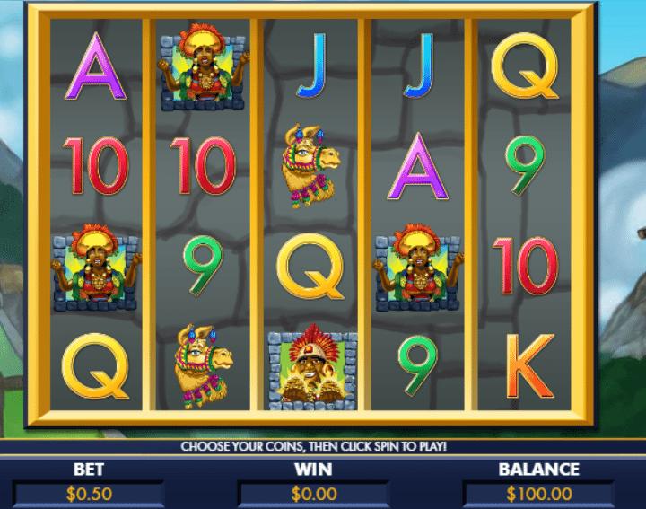 Spielautomat Machu Picchu Gold Online Kostenlos Spielen