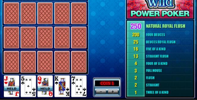Deuces Wild 4H Spielautomat Kostenlos Spielen