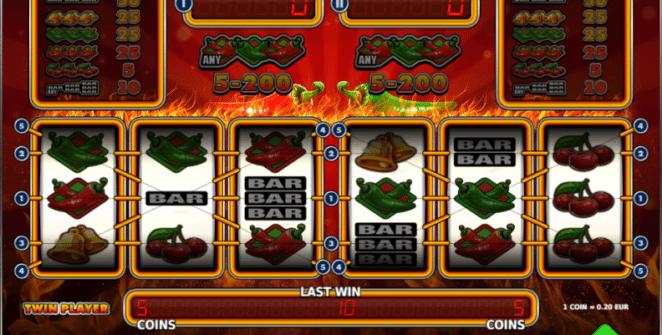 Kostenlose Spielautomat Sizzling Peppers Online