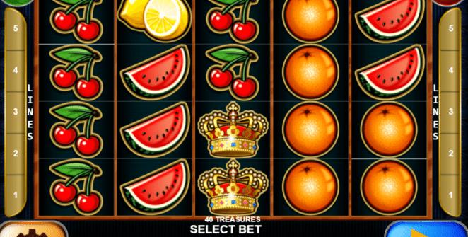 Kostenlose Spielautomat 40 Treasures Online