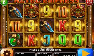 Kostenlose Spielautomat Aztec Empress Online