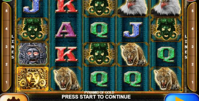 Spielautomat Pyramid of Gold Online Kostenlos Spielen