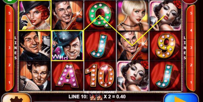 Spielautomat The Great Cabaret Online Kostenlos Spielen