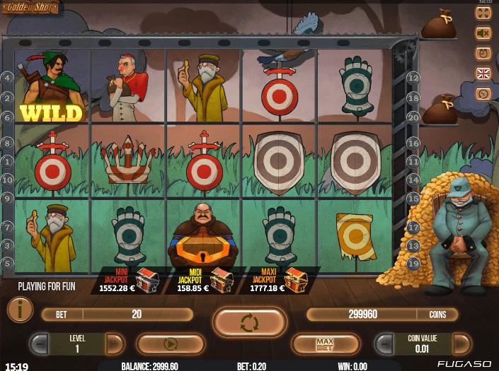 Golden Shot Spielautomat Kostenlos Spielen
