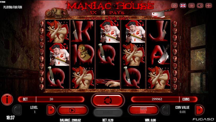 Casino Spiele Maniac House Online Kostenlos Spielen