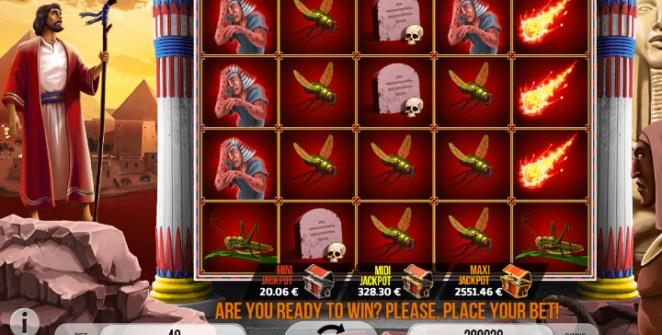 Spielautomat Plagues of Egypt Online Kostenlos Spielen