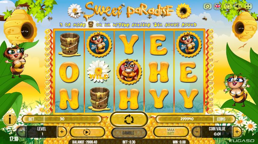 Sweet Paradise Spielautomat Kostenlos Spielen