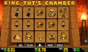 Kostenlose Spielautomat King Tuts Chamber Online