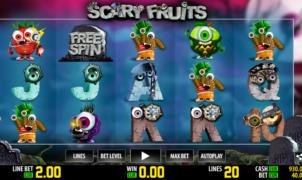 Kostenlose Spielautomat Scary Fruits Online