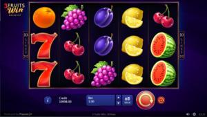 Spielautomat 3 Fruits Win Online Kostenlos Spielen