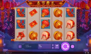 Spielautomat Dancing Dragon Spring Festival Online Kostenlos Spielen