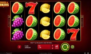 Casino Spiele Fruits and Jokers Online Kostenlos Spielen
