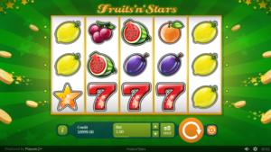 Fruits and Stars Spielautomat Kostenlos Spielen