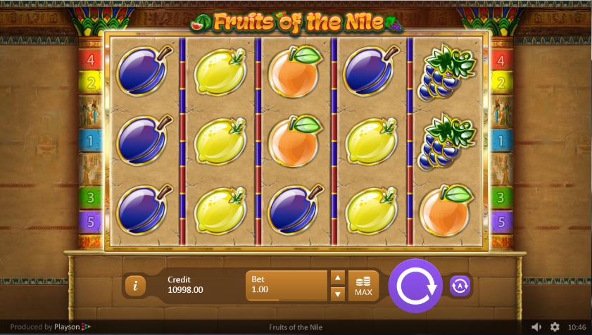 Spielautomat Fruits of the Nile Online Kostenlos Spielen