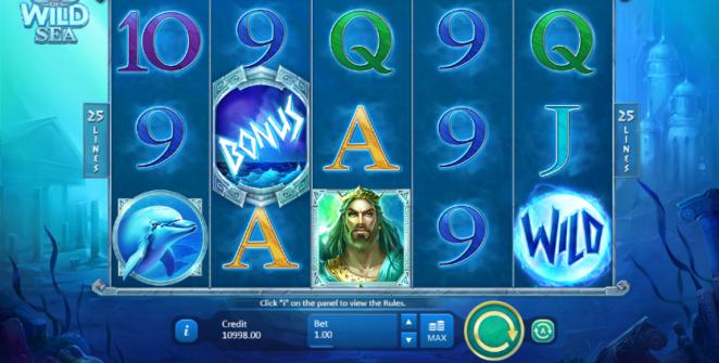 Kostenlose Spielautomat God of Wild Sea Online