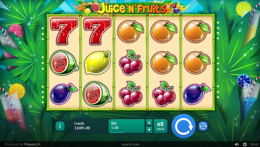 Juice and Fruits Spielautomat Kostenlos Spielen