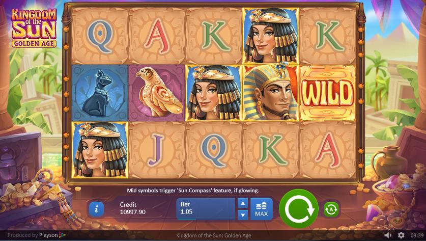 Spielautomat Kingdom of the Sun Golden Age Online Kostenlos Spielen
