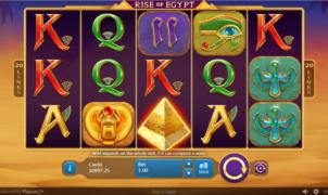 Spielautomat Rise of Egypt Online Kostenlos Spielen