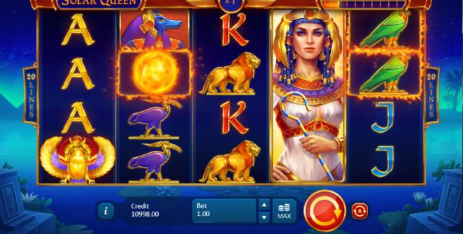 Spielautomat Solar Queen Online Kostenlos Spielen