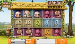 Kostenlose Spielautomat Big Bad Wolf QuickSpin Online