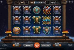 Kostenlose Spielautomat Fire Lightning Online