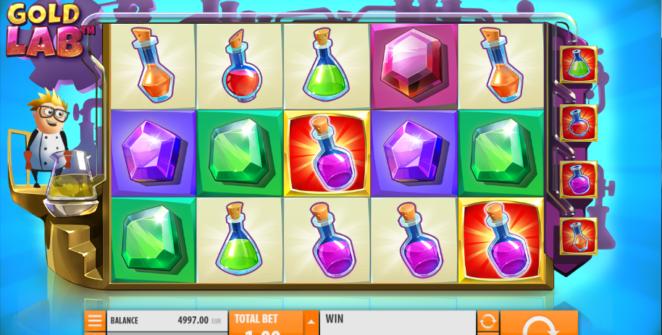 Kostenlose Spielautomat Gold Lab Online Online