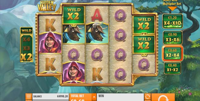 Kostenlose Spielautomat Hidden Valley Online