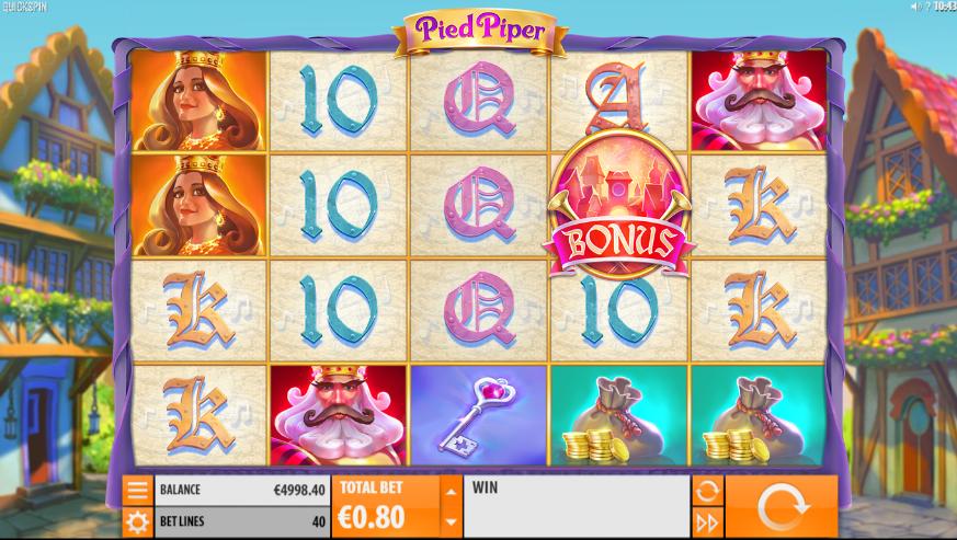 Kostenlose Spielautomat Pied Piper Online