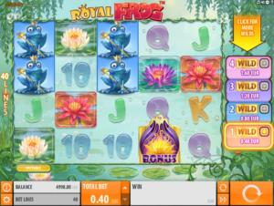 Kostenlose Spielautomat Royal Frog Online