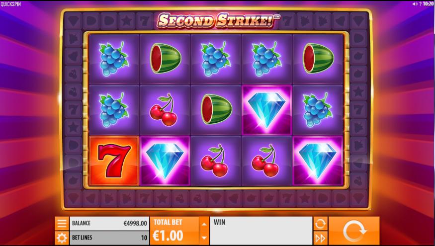 Second Strike Spielautomat Kostenlos Spielen