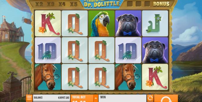 Kostenlose Spielautomat Tales of Dr Dolittle Online