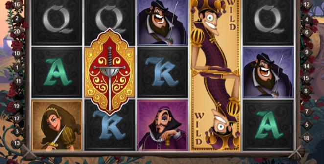 Kostenlose Spielautomat The Three Musketeers QuickSpin Online