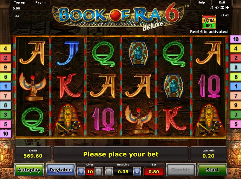 Gratis Book Of Ra Deluxe Automat Online Ohne Spielen
